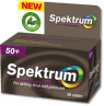 Multivitamin und Multimineralpräparat  Spektrum 50+