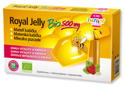 gelee royal jelly bio junior 500mg gelee royal kr uterwunder. Black Bedroom Furniture Sets. Home Design Ideas